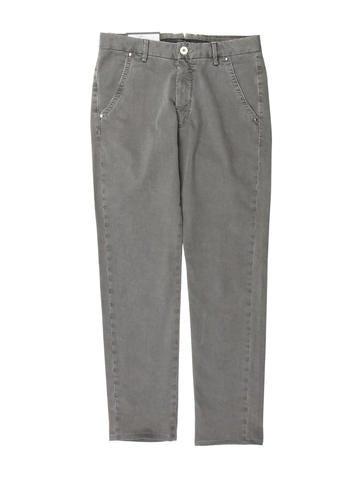 Zanella Printed Flat Front Pants w/ Tags
