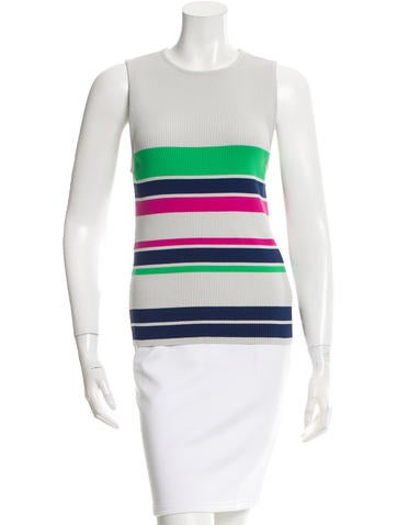 Tanya Taylor Striped Knit Top None
