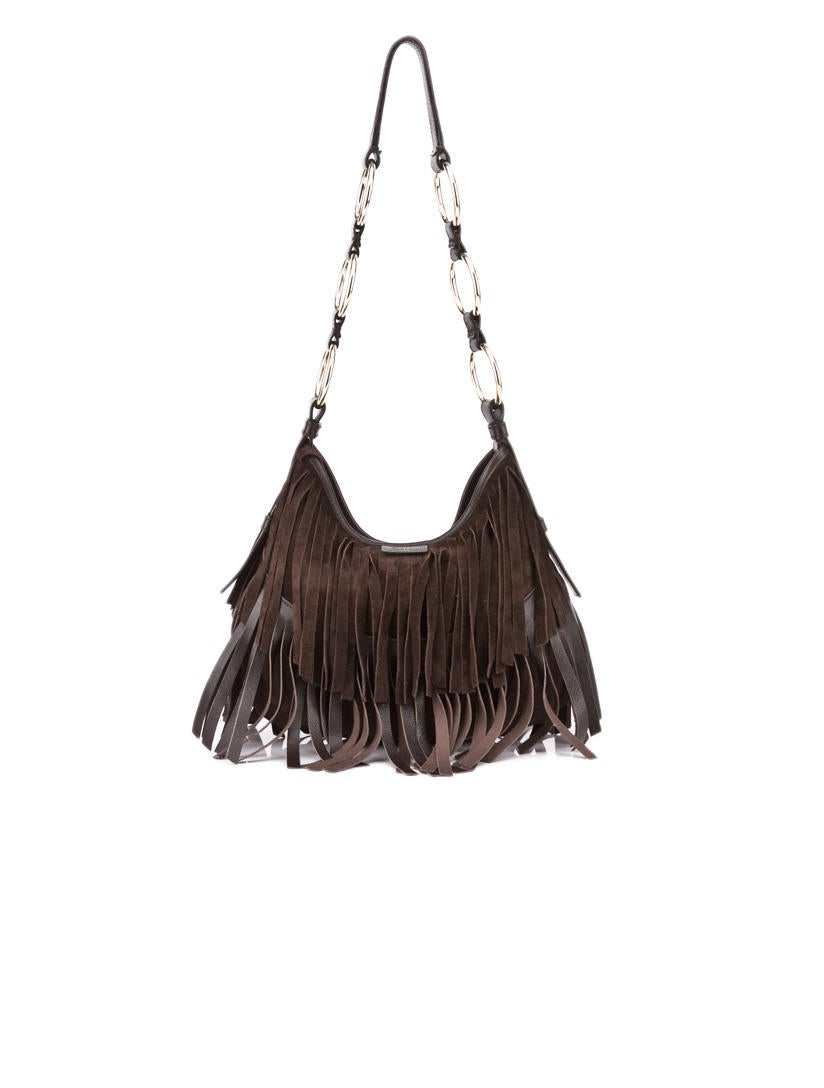 Yves Saint Laurent Fringe Bag - Handbags - YVE02011 | The RealReal