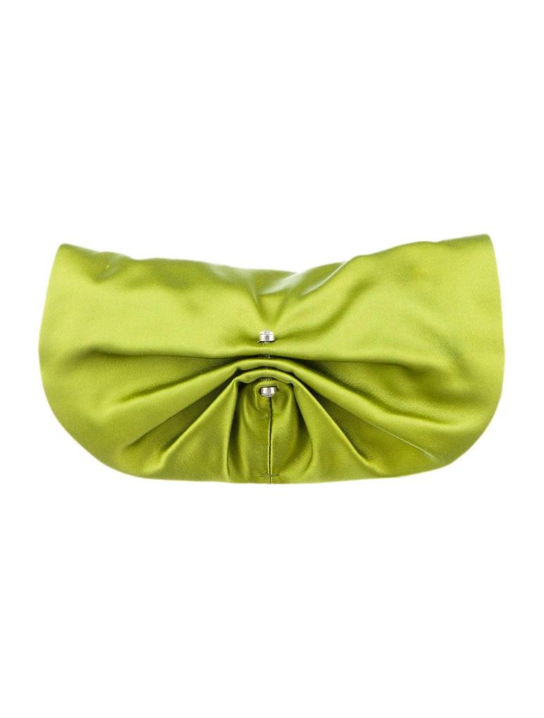 Yves Saint Laurent Satin Clutch - Handbags - YVE22436 | The RealReal