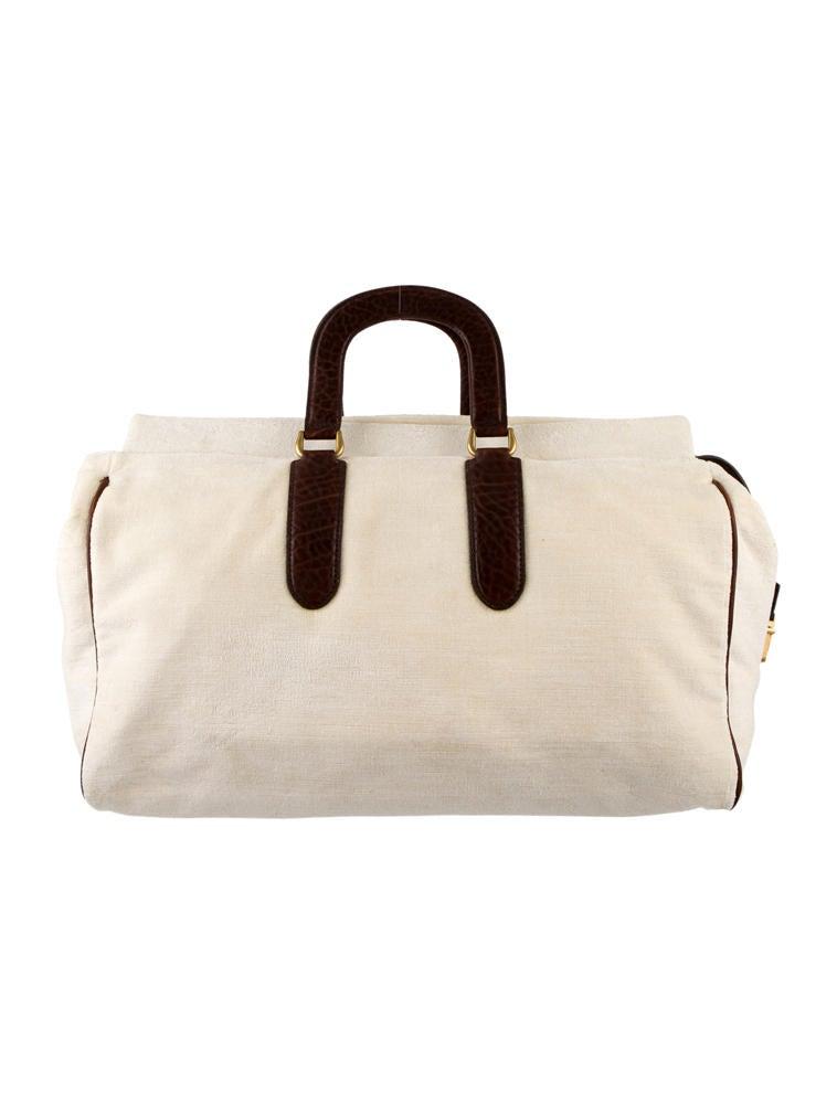 Yves Saint Laurent Weekender Bag - Handbags - YVE22859 | The RealReal