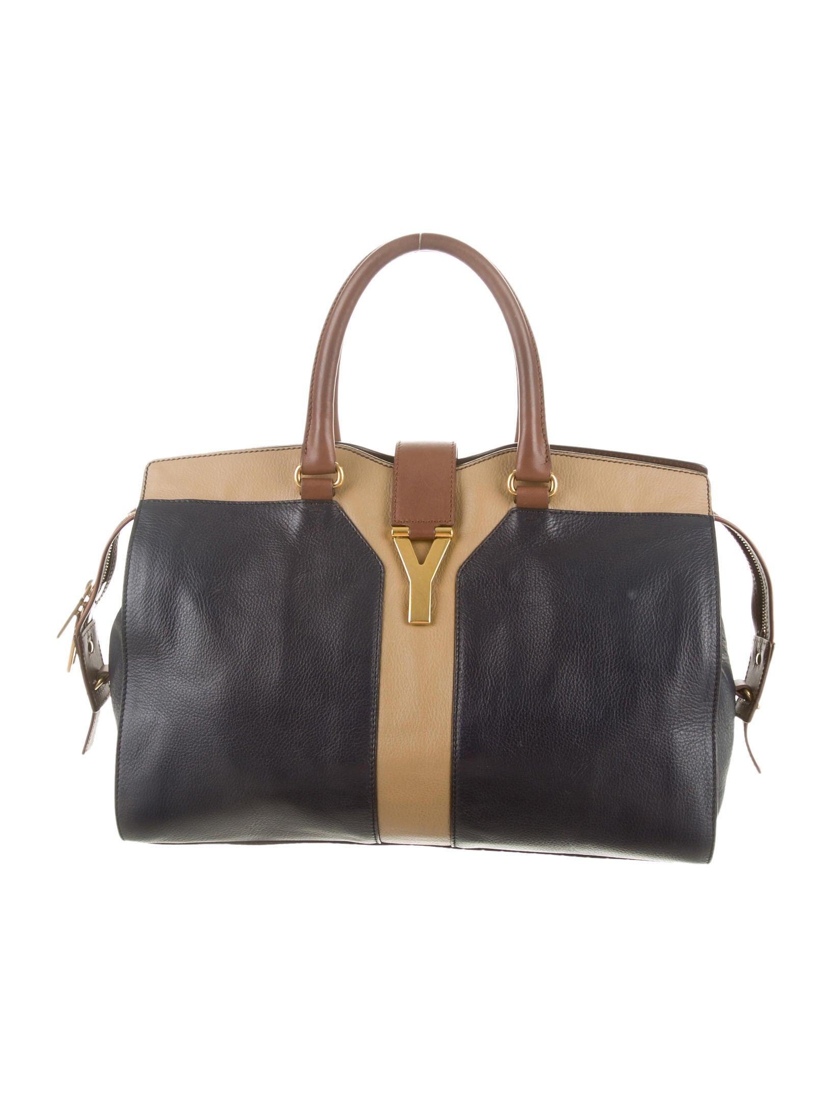 Yves Saint Laurent Cabas Chyc Bag - Handbags - YVE35501 | The RealReal