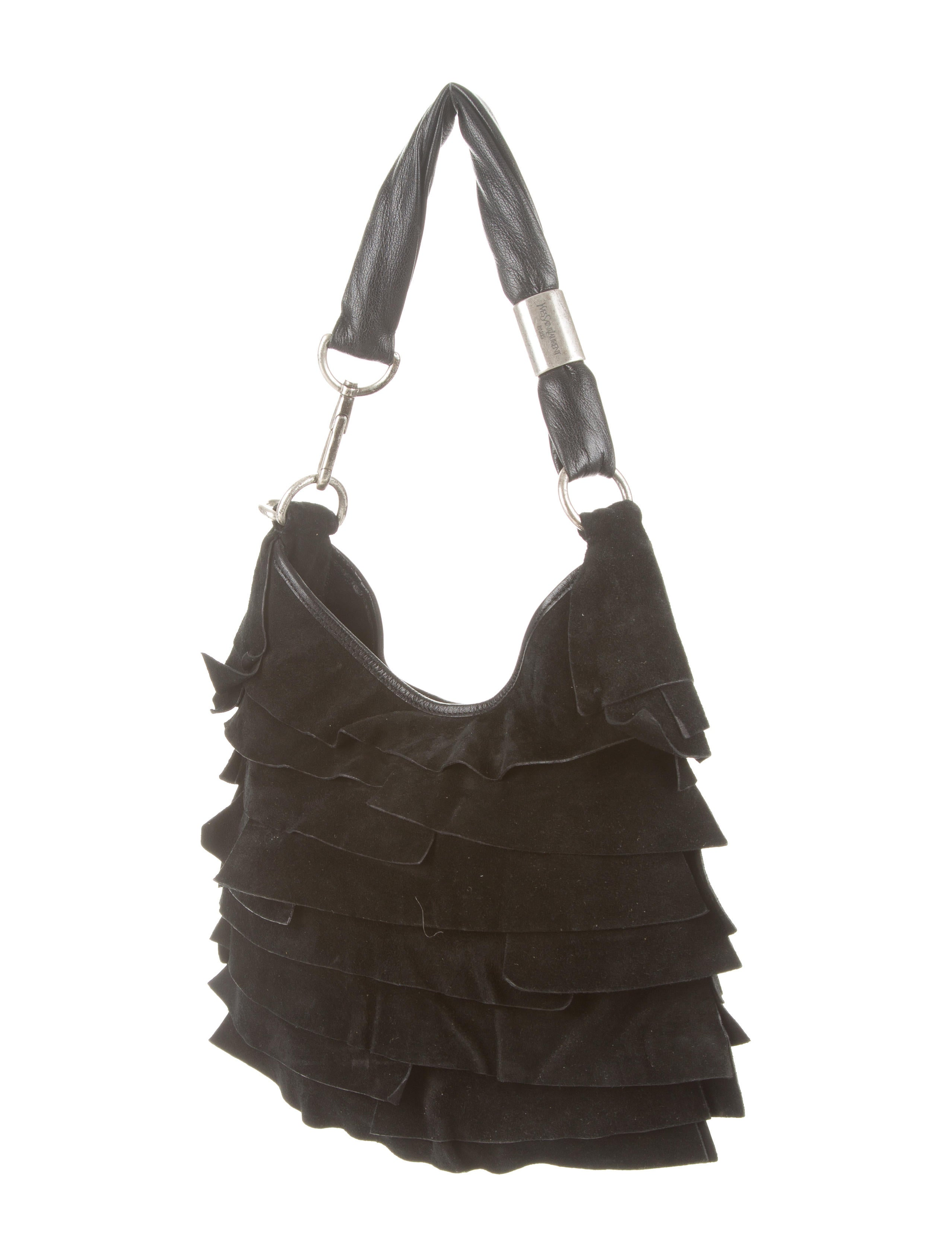 ysl chyc messenger - Yves Saint Laurent Ruffle St. Tropez Bag - Handbags - YVE38192 ...