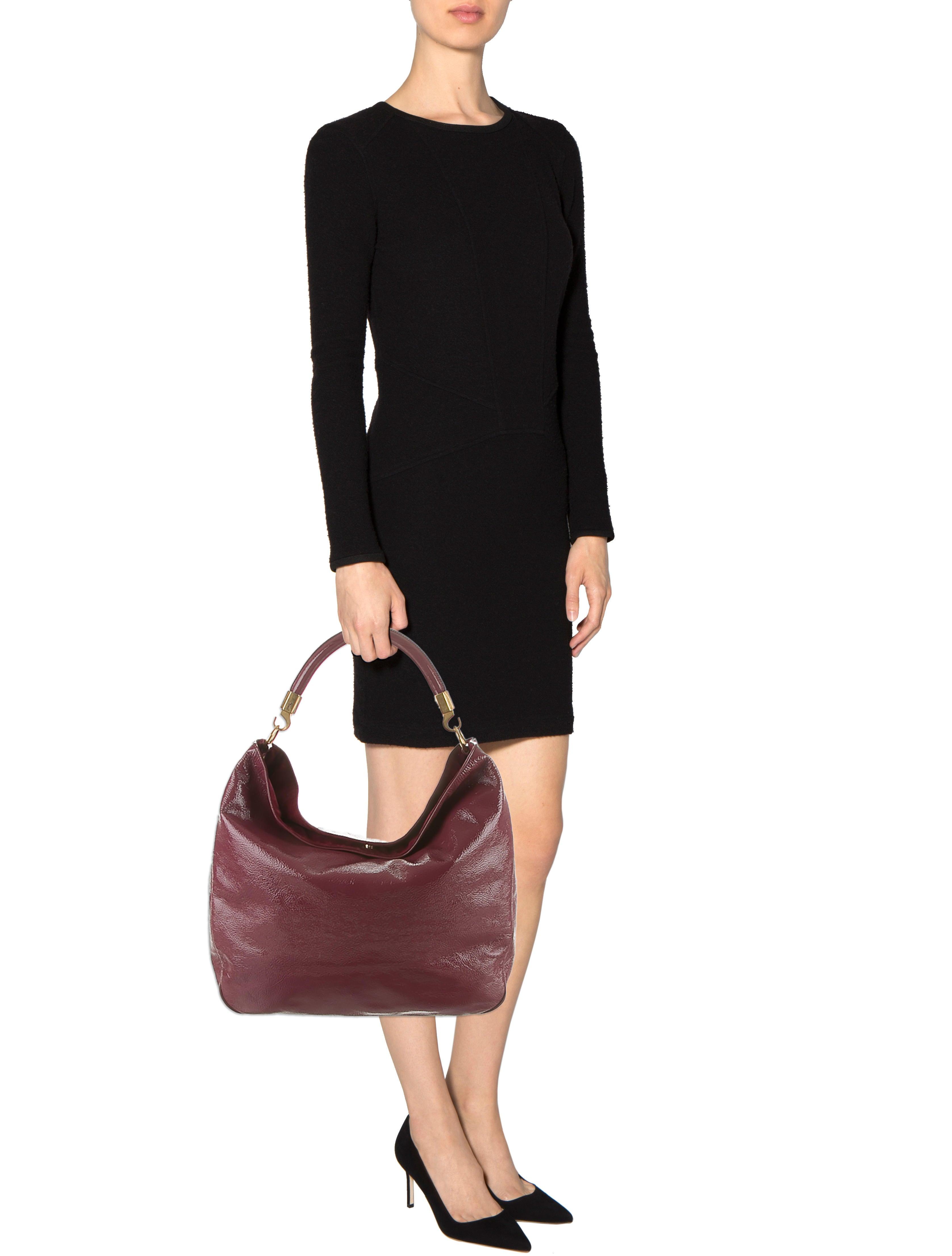 Yves Saint Laurent Patent Leather Roady Bag - Handbags - YVE38430 ...