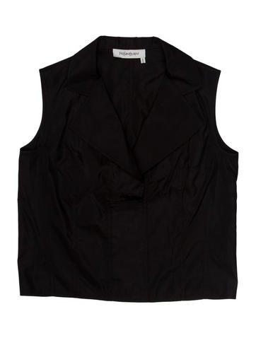 Yves Saint Laurent Silk Top None