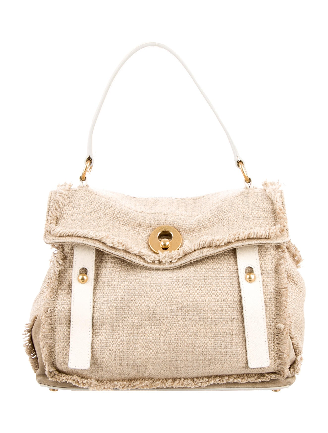 Yves Saint Laurent Raffia Muse Two Bag - Handbags - YVE40311 | The ...