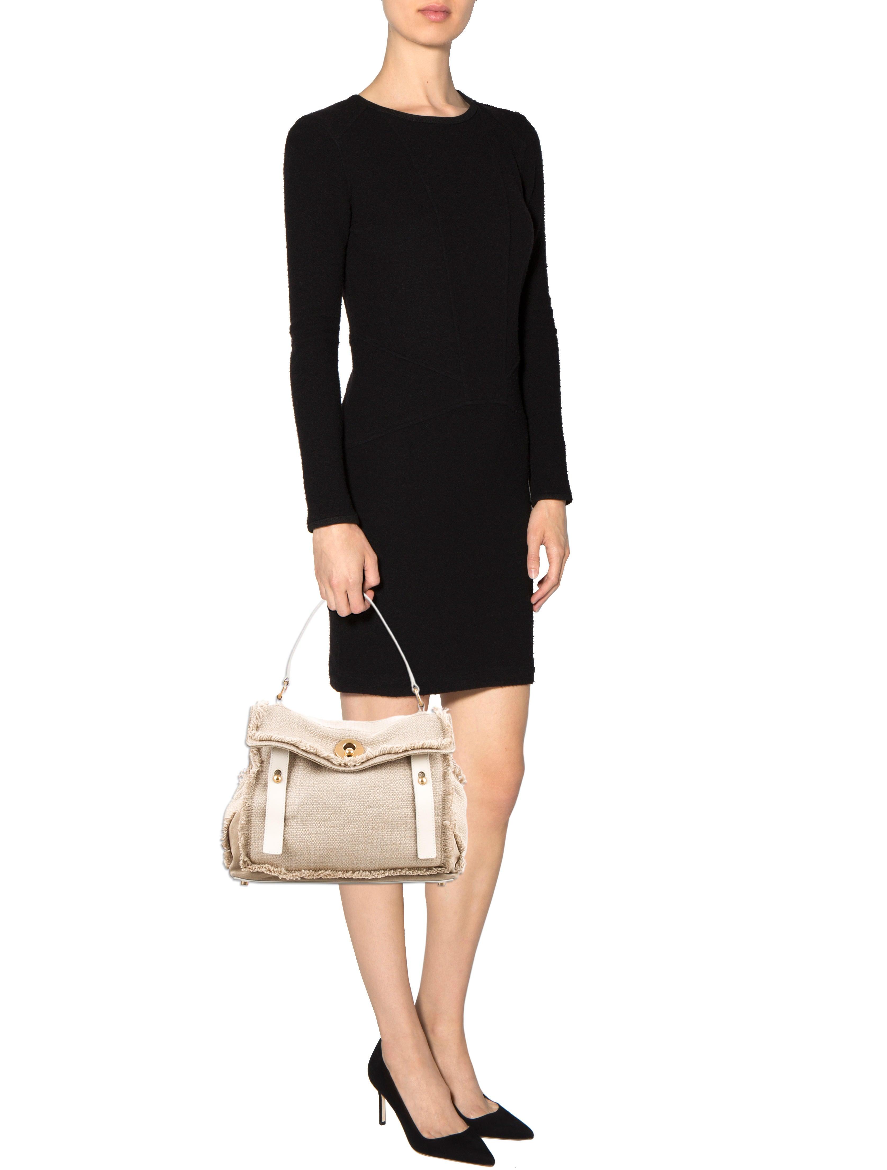 Yves Saint Laurent Raffia Muse Two Bag - Handbags - YVE40311 | The ...