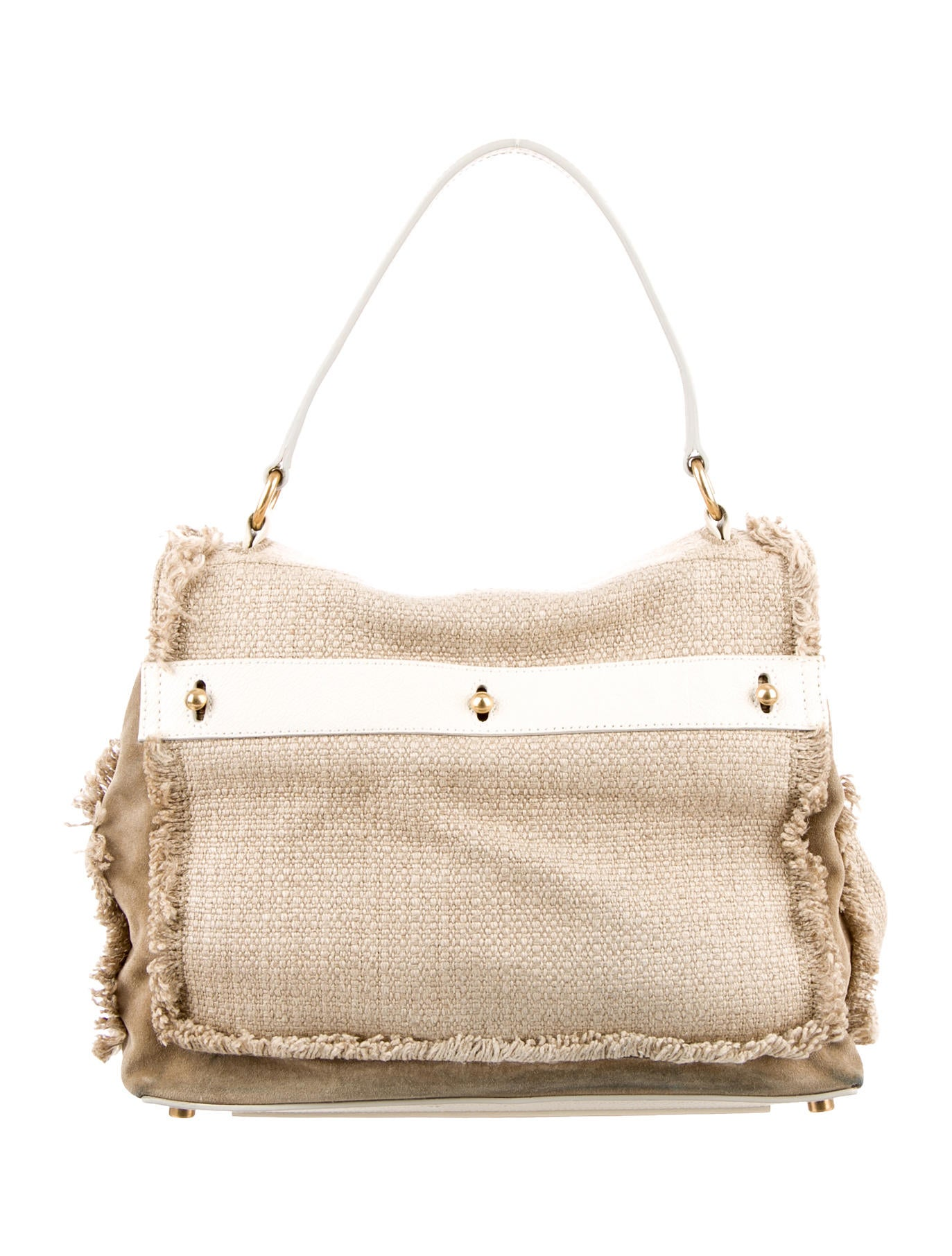 yves saint laurent shoulder bag - Yves Saint Laurent Raffia Muse Two Bag - Handbags - YVE40311 | The ...