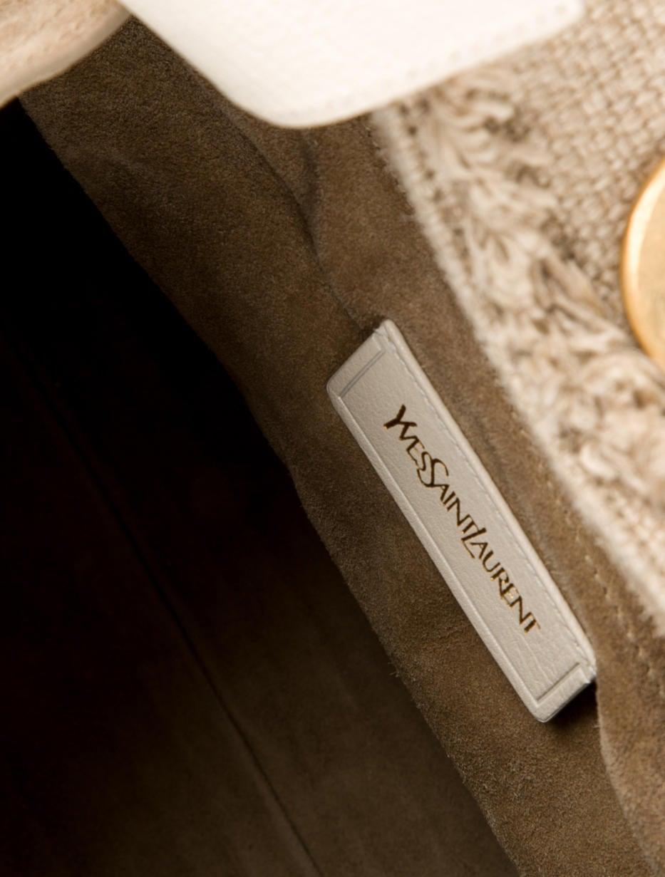 Yves Saint Laurent Raffia Muse Two Bag - Handbags - YVE40311   The ...