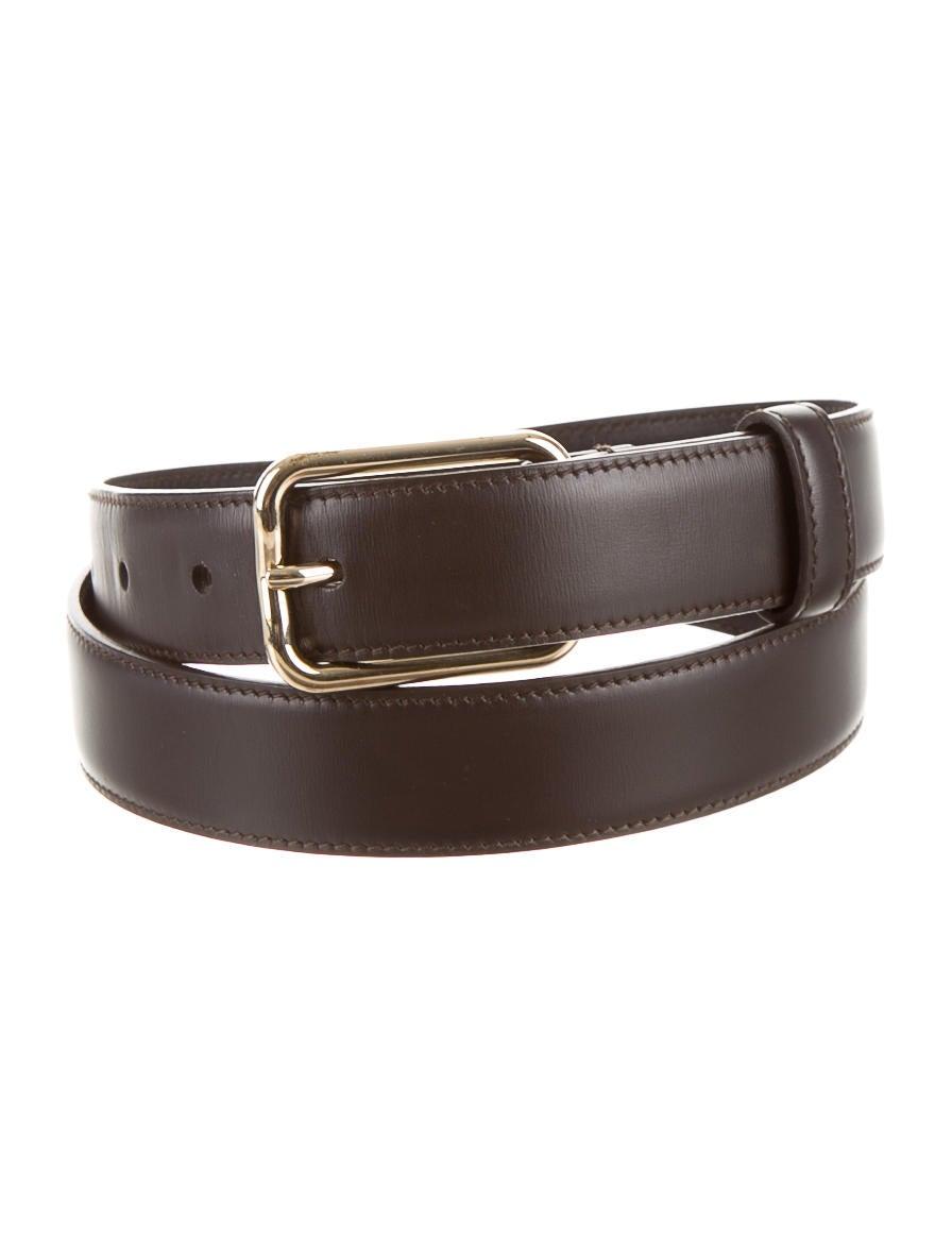 Yves Saint Laurent Leather Belt Accessories Yve41491