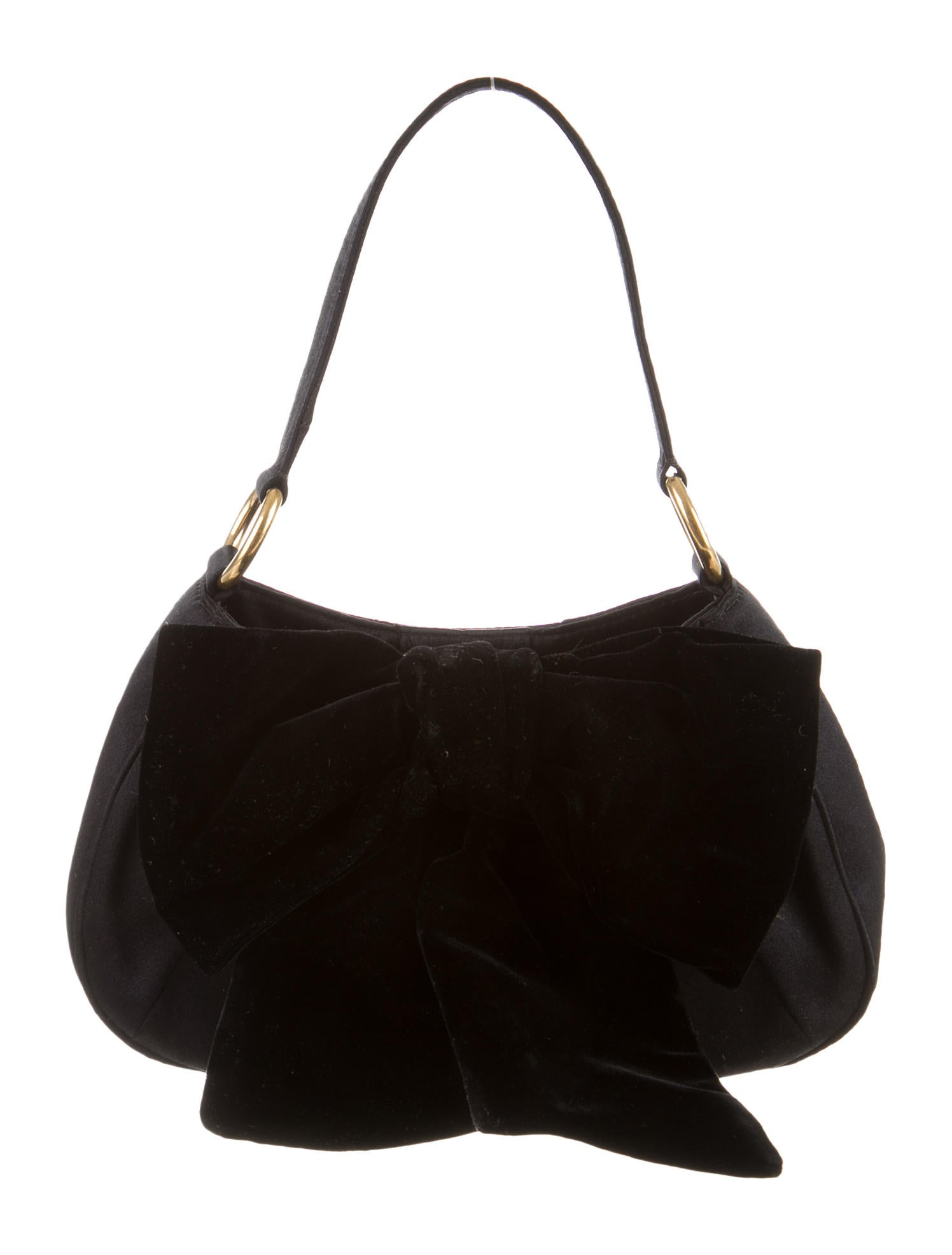 yves st laren - yves saint laurent bow handle bag, yve saint laurent bag