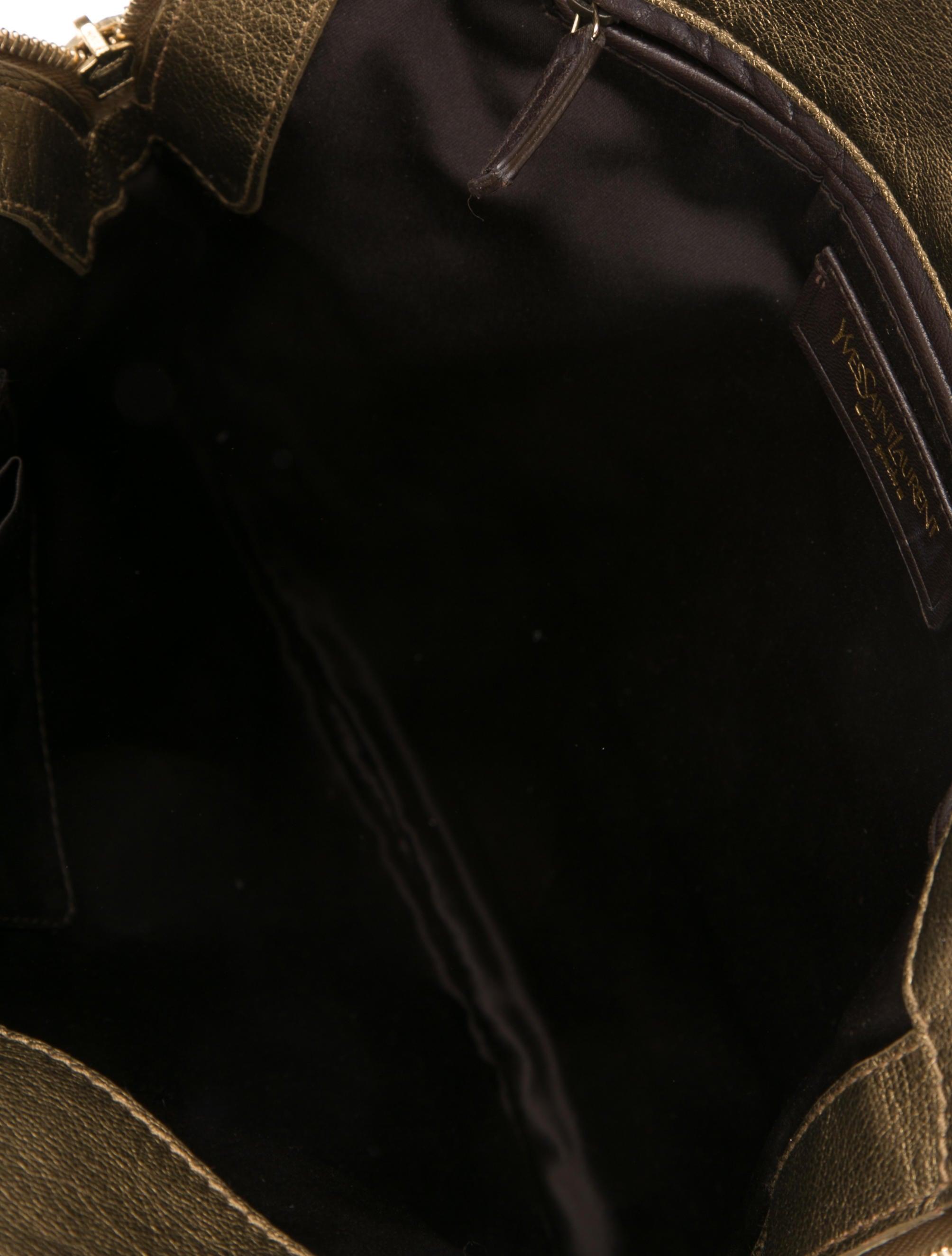 yves saint laurent cabas chyc mini leather satchel - yves saint laurent metallic mini tribute tote, yves saint laurent ...