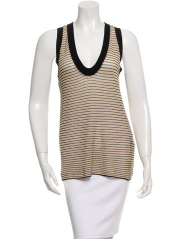 Zadig & Voltaire Striped Knit Top None
