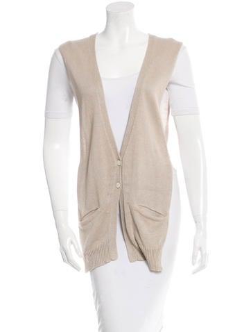 Zero + Maria Cornejo Sleeveless Knit Sweater None