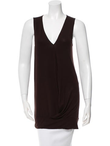 Zero + Maria Cornejo Sleeveless Overlay Top None
