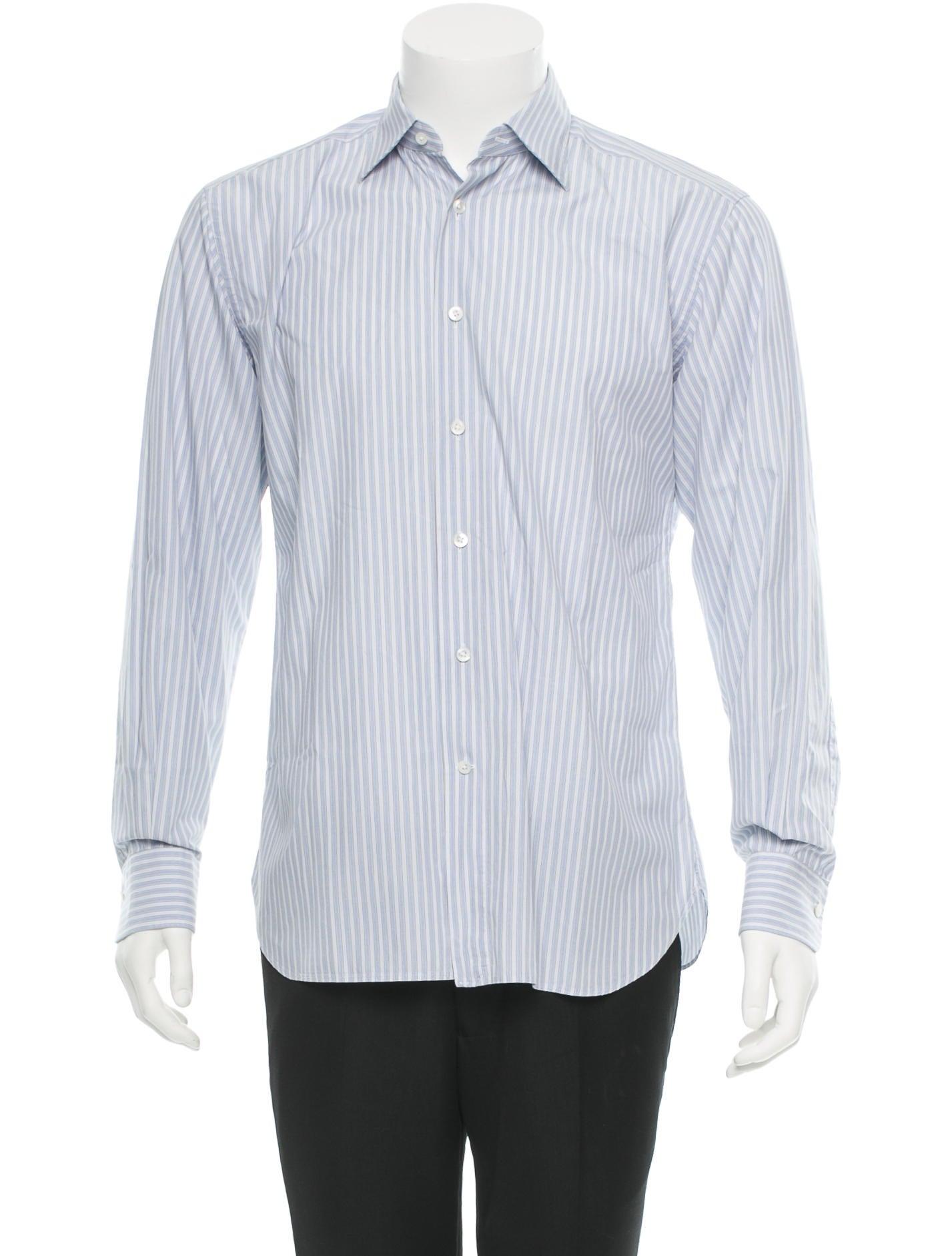 ermenegildo zegna shirt mens shirts zgn21060 the realreal. Black Bedroom Furniture Sets. Home Design Ideas